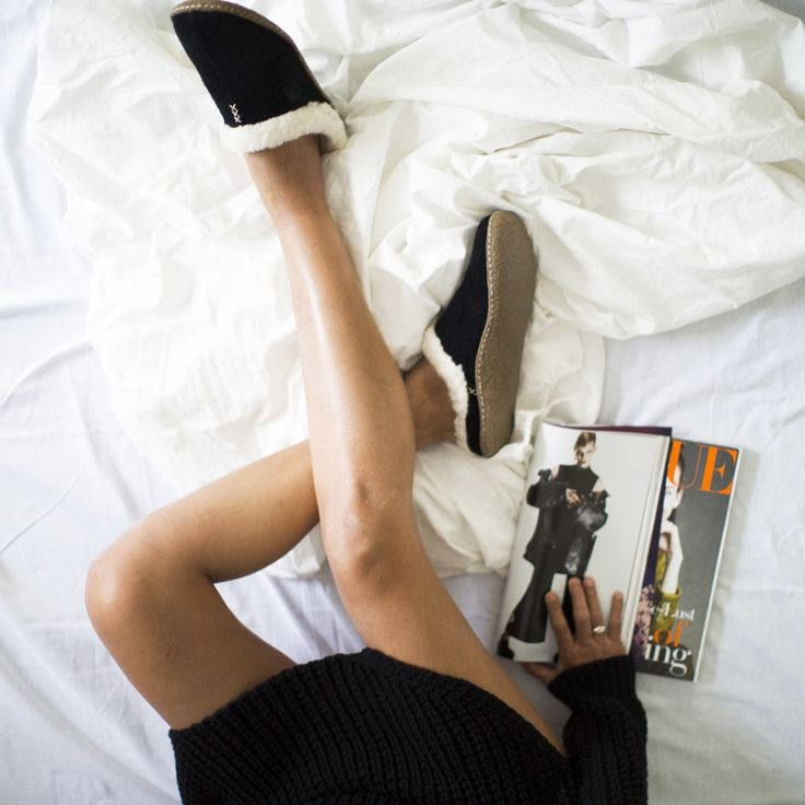Outfit | Cozy at Home with Sorel Slippers
