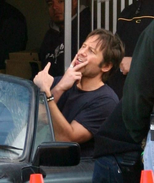 There's just something about Hank Moody <3