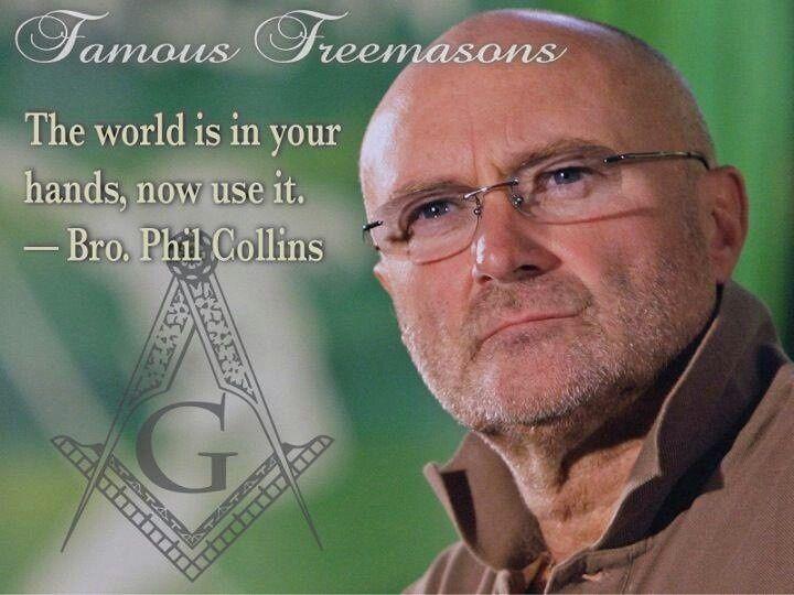 Famous Freemasons - Phil Collins