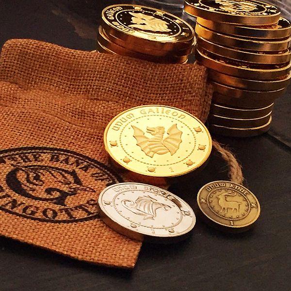 "+) Хогвартс - ""Монеты банка Гринготтс"" ( Hogwarts - ""Gringotts Bank Coins"" )"