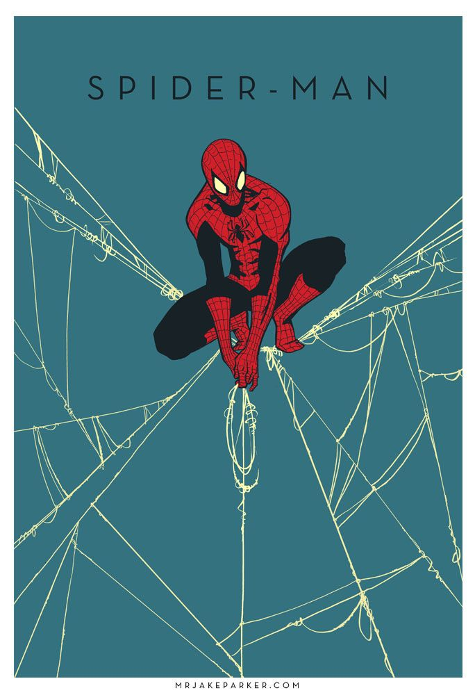 Spider-Man by Jake Parker