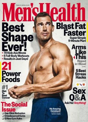 frugaliscious: FREE 1yr subscription to Men's Health magazine