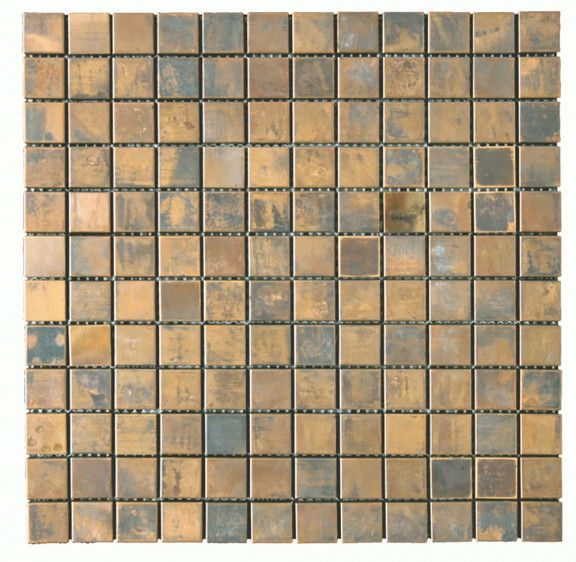 Metal Tile Copper Antique 1 X 4 Stainless Steel Brushed Tile Mosiac Metal Tiles Copper Tiles Mosaic Copper Antique In 2020 Metal Tile Copper Tiles Copper Mosaic