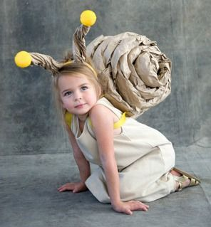 Snail-eco-costume