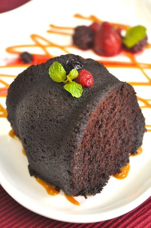 Easy recipe for chocolate rum cake