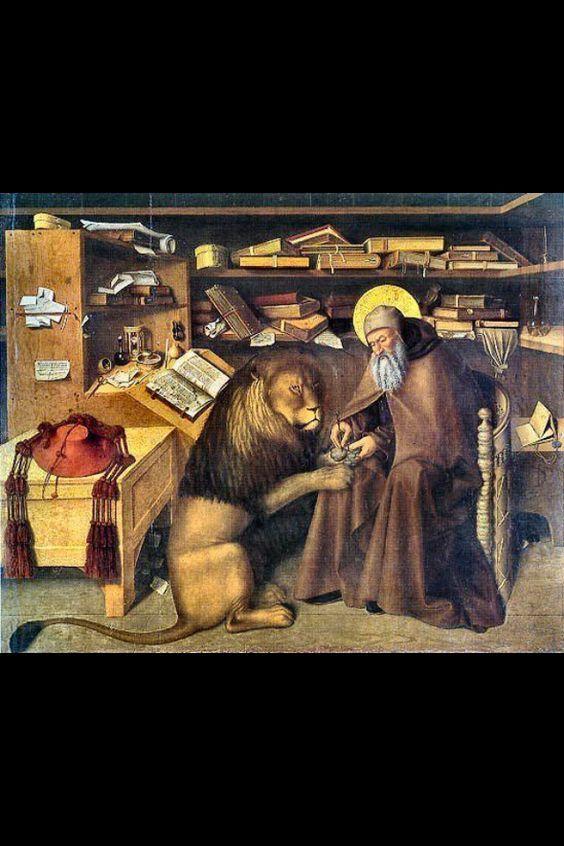 Niccolò Colantonio, St. Jerome in His Study (ca. 1445):