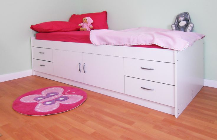 CABIN BED IN BEECH EFFECT OR WHITE UK MADE CHILDRENS BEDS TO THE HIGHEST STANDARD THE CABIN BED IS 60CM HIGH AND COMES COMPLETE WITH A BED BASE AND