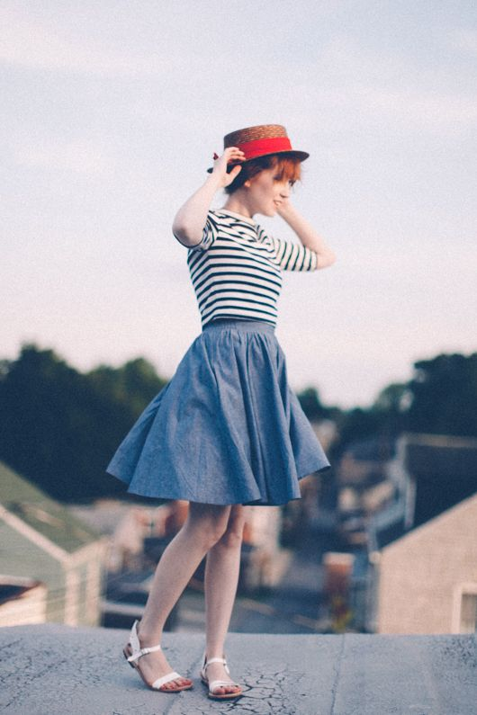 The Clothes Horse: Sunday Remix: Three Ways To Wear A Chambray Dress