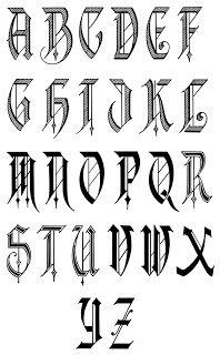 Calligraphy Alphabet : Calligraphy Alphabets