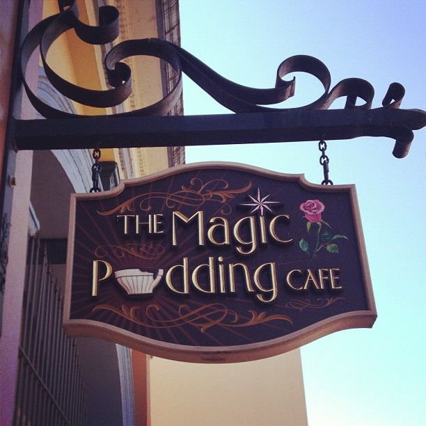 The Magic Pudding Cafe Sign (Inverell, NSW), by Danthonia Designs.