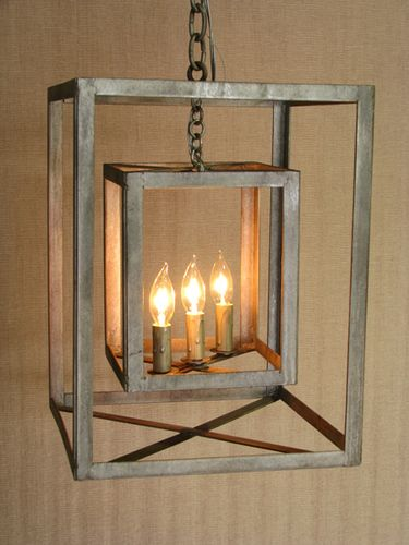 double cube chandelier - RianRae love this but unfortunately no longer seems to be available