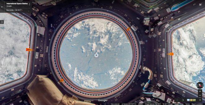 Esta nueva prestación de Google permite recorrer virtualmente todos los puntos de la Estación Espacial Internacional del mismo modo que p...