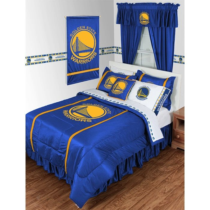 Golden State Warriors NBA Sidelines Bedding / Accessories Set