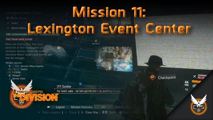 Mission 11: Lexington Event Center [Security]