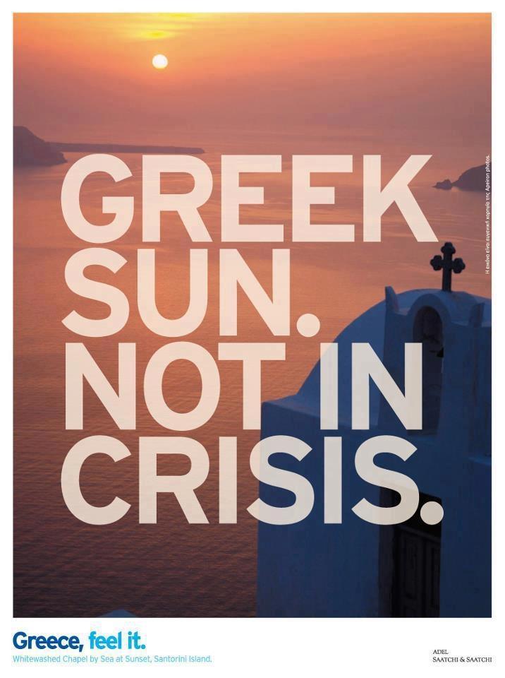 Greek Sun. Not In Crisis