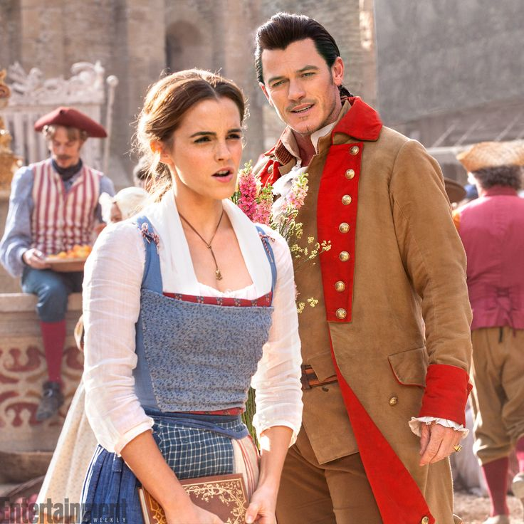 Exclusive: See NEW images of Emma Watson as Belle in the live-action Beauty and the Beast!