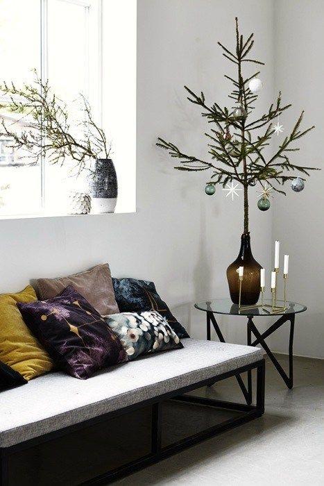 Når det nærmer seg jul, butikkene bugner av den lekreste julepynt, men det er for tidlig å pynte juletreet. Hva gjør man da? Man jukser litt. Sett en gren i en vase og pynt eventuelt med jjulepynt.…