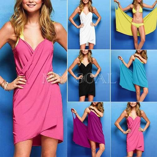 What A Great Swim Suit Cover-Up...With Under 2 Yards Of Fabric & About 25 Minutes Of Your Time, You Can Make This.