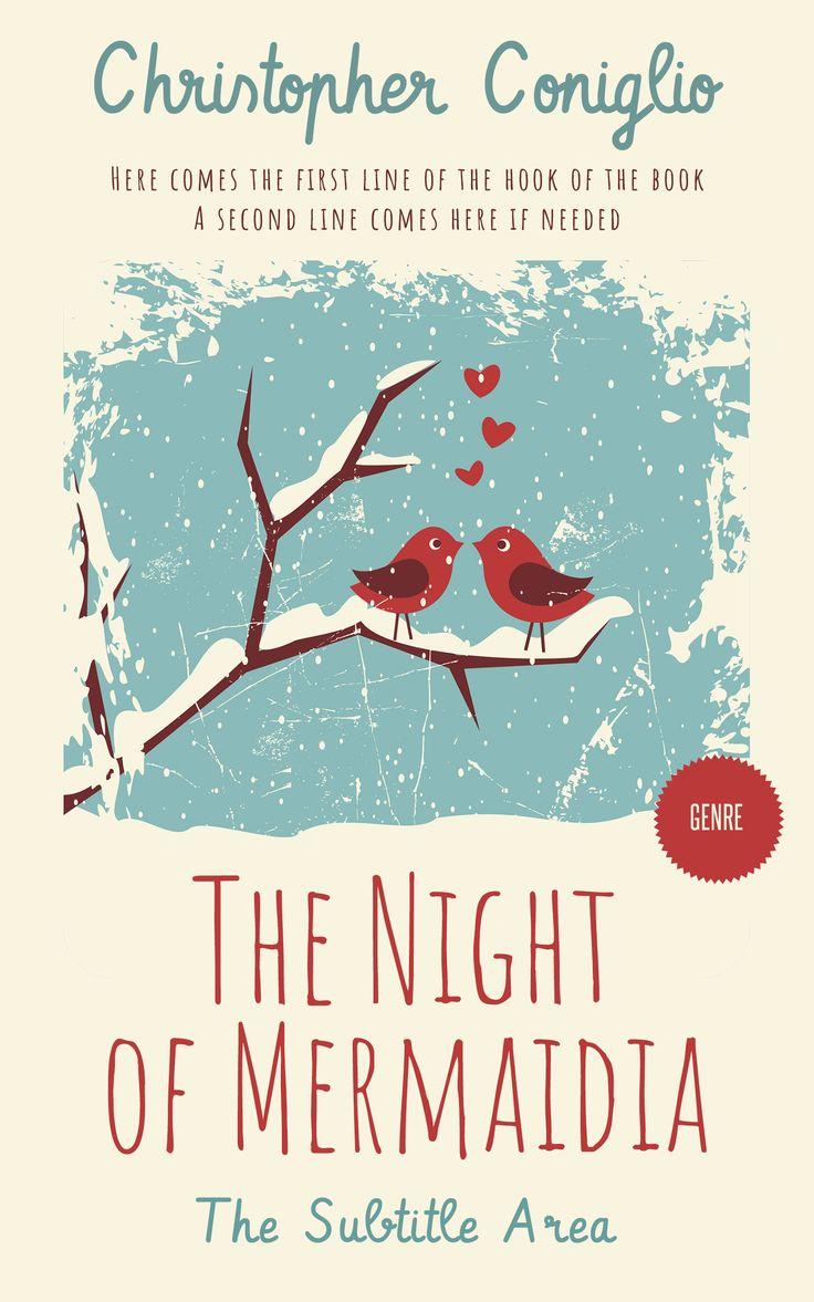 Linen New fiction, romance premade book cover.: Linen New fiction, romance premade book cover. #Background #Bird #Blue #premade #bookcover