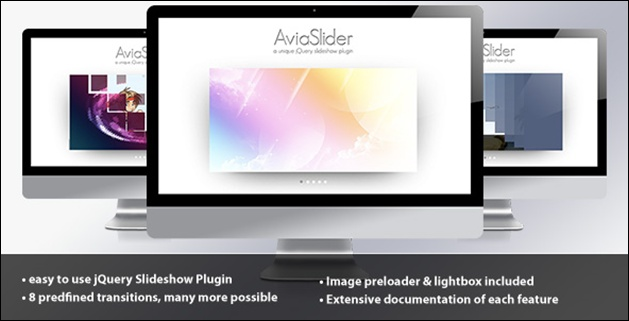 180 Awesome jQuery Slider and Effects Roundup