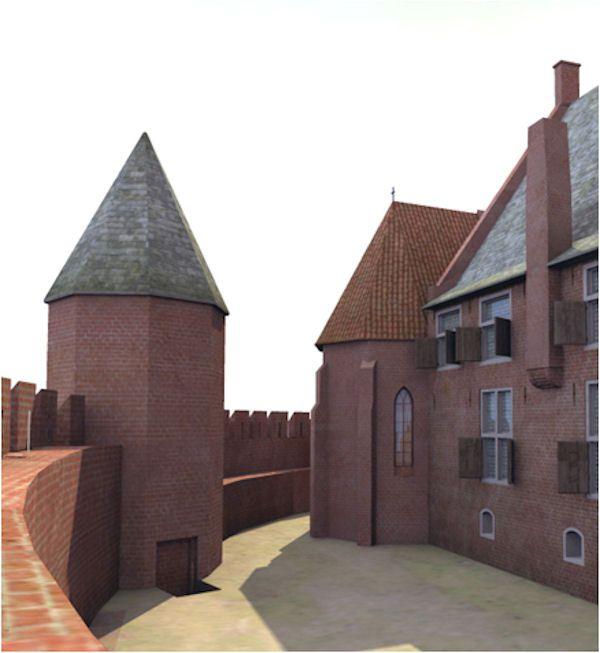 Jouke Nijman, animatie Tiel rond het jaar 1000