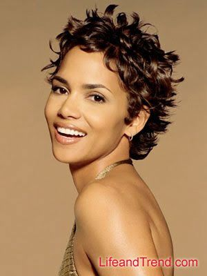 halle+berry+short+hairstyles | Halle Berry Short Messy Hairstyles For Women