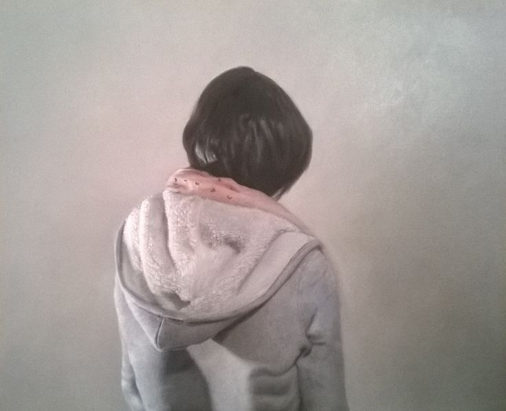"""""""Jane Doe Series"""" - Oil on canvas - Kim Woodman"""