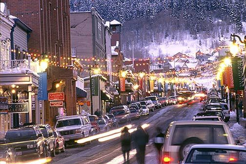 Park City, Utah is a magical place for your winter vacation!