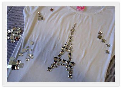 Garotas Modernas: DIY (faça você mesma) da leitora: camiseta com bordado