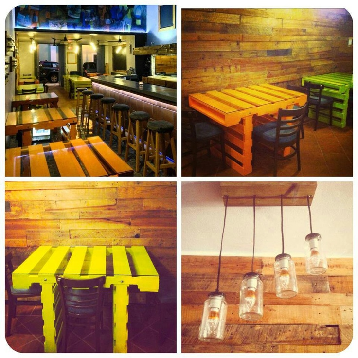 Palets decoracion pinterest design tables and mesas - Decoracion con pallets ...