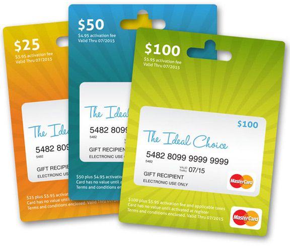 Click on Mastercard Gift Card to check Balance.