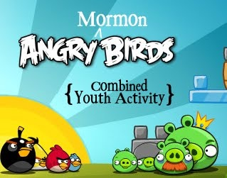 Life.Design. and the Pursuit of Craftiness: Angry MORMON Birds: Youth Activity