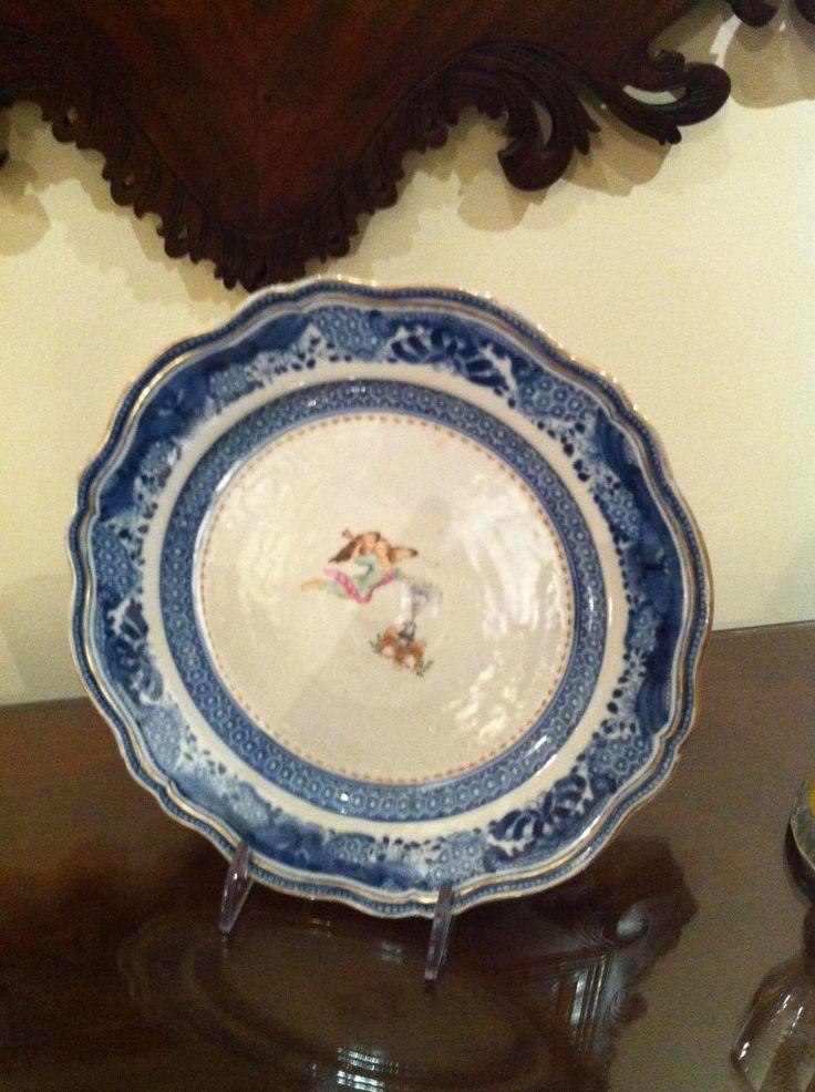 martha washington's china plate