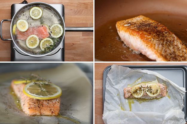 We Cooked Salmon Four Different Ways And Then Critiqued Each One