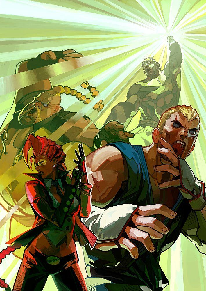 Street Fighter IV 1 by #UdonCrew on deviantART