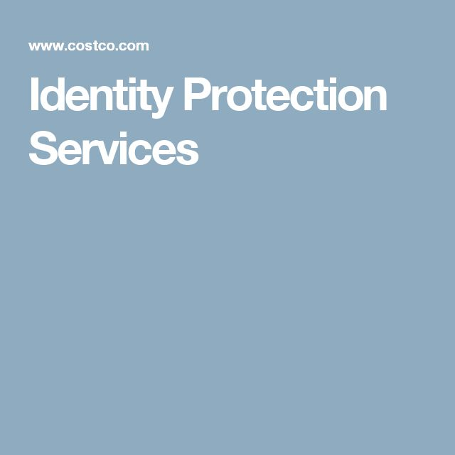 Identity Protection Services