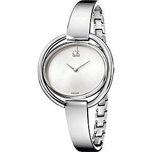Calvin Klein Damenuhr Impetuous K4f2n116 Damenuhren Calvin Klein Uhr Silberne Uhr