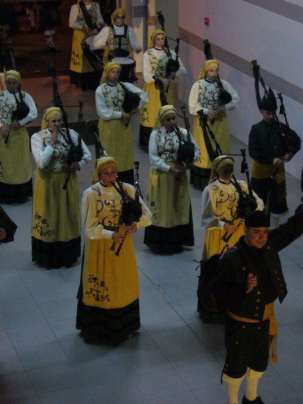 Asturian bagpipers  Interceltic Festival of Avilés