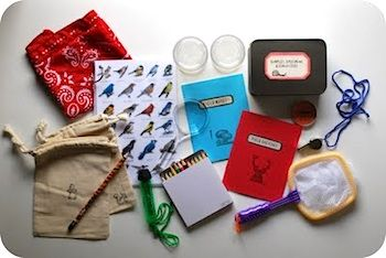 a nature detective supplies...