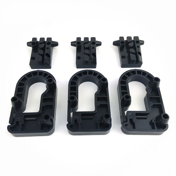 Micromake Kossel Frame Delta 3D Printer Plastic Injection Parts Injection Molding Pulley Parts