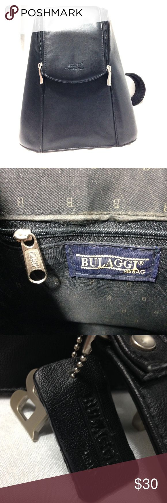 Bulaggi unisex bag, murse, backpack or shoulder This bag screams metrosexual. Nice and spacious for its unassuming size (about 10x9). Shows little wear if you look really close, but still a very nice looking accessory for guys or girls! Bags Backpacks