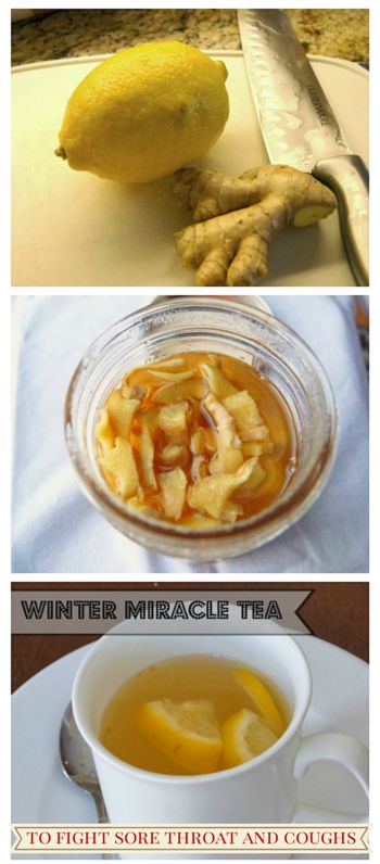 Discover how to make this miracle tea to fight sore throat and coughs for kids and adults. . People have been using this to cure ailments for years...
