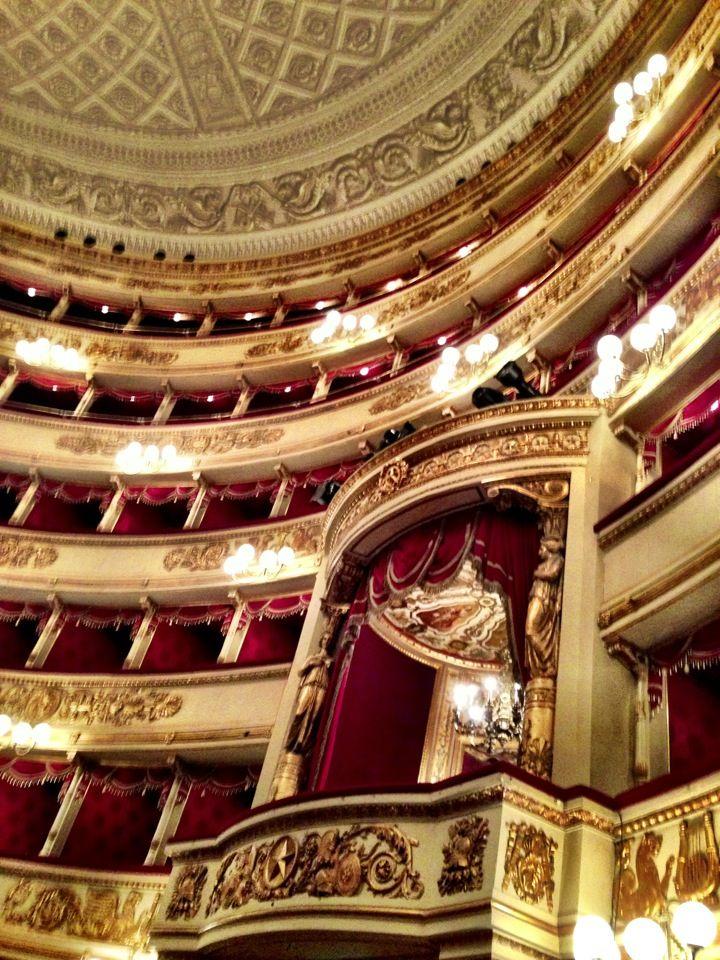 Teatro alla Scala in #Milano, Lombardia