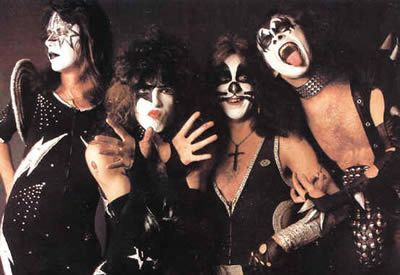 KISS - the first concert I ever went to!  It still amazes me that my parents let me go!
