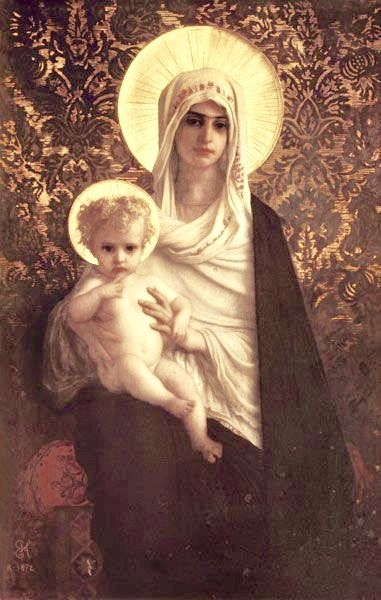Pin By B E A T R I Z On Virgen Maria Madonna And Child Mary And Jesus Mother Art