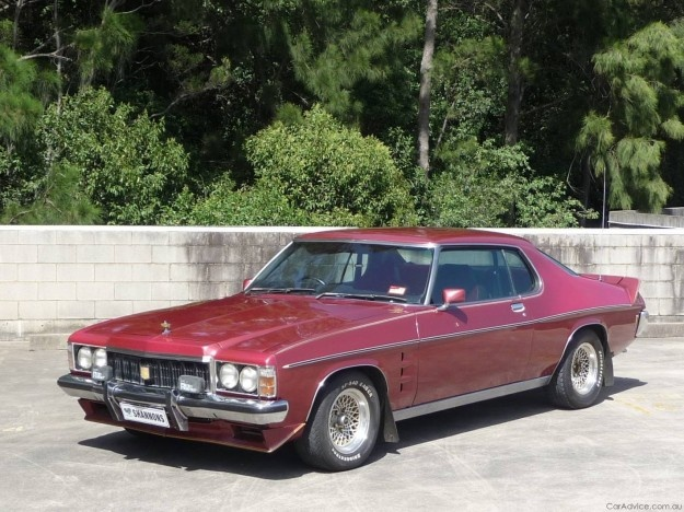 1976 Holden Monaro LE Coupe. Ruby Red. v@e.
