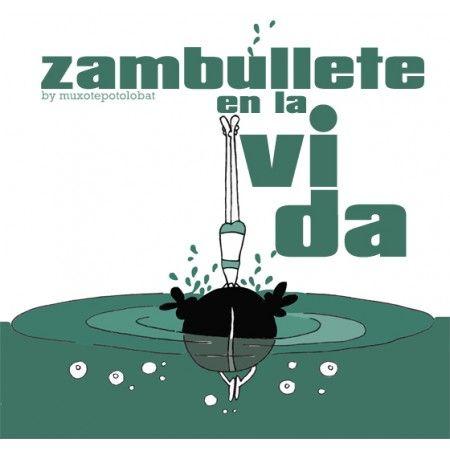 """Lámina """"Zambullirse"""""""