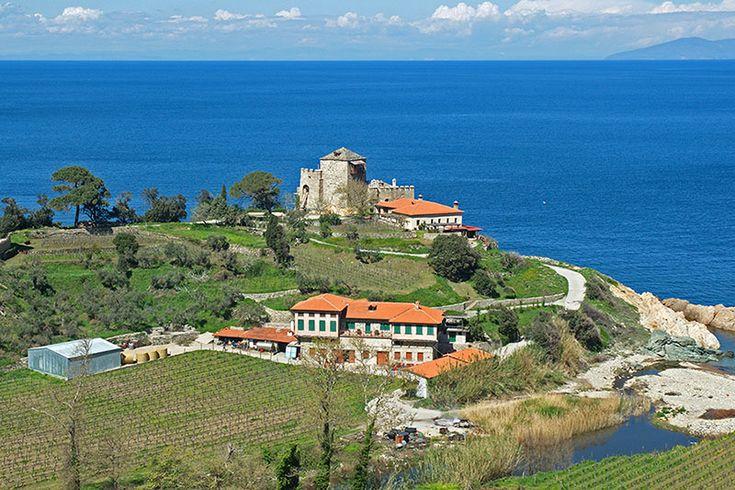 TRAVEL'IN GREECE I Megisti Lavra Monastery, Mount Athos, Greece, #travelingreece