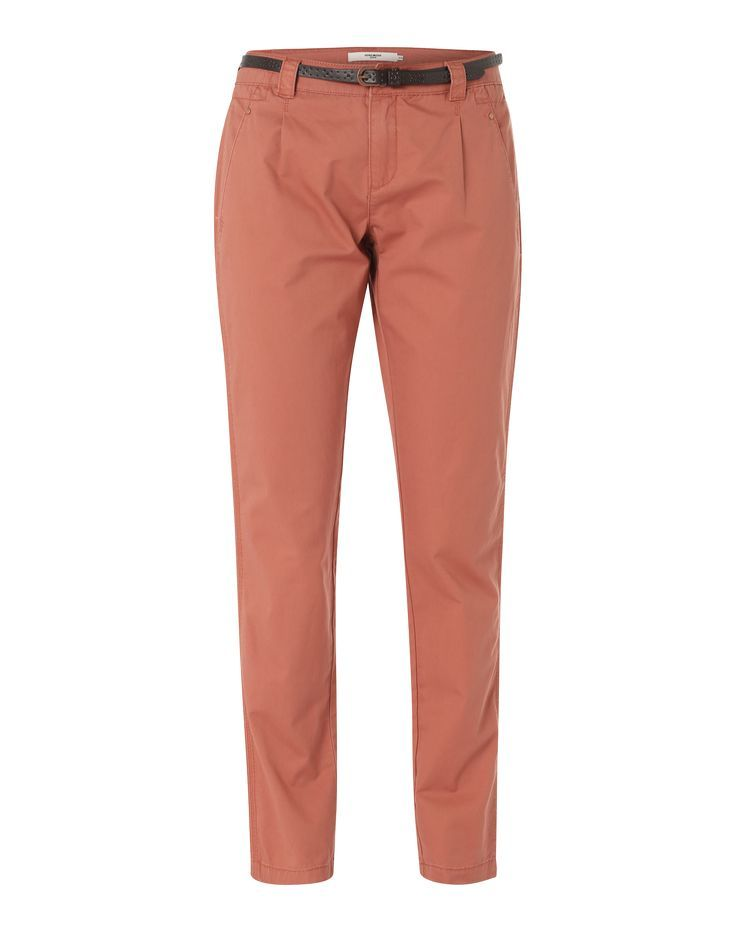 VERO MODA 'VMBoni Chino Lw' Hose in Braun | ABOUT YOU