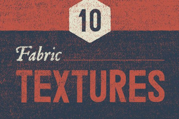10 Vintage Fabric Textures by GhostlyPixels on @creativemarket
